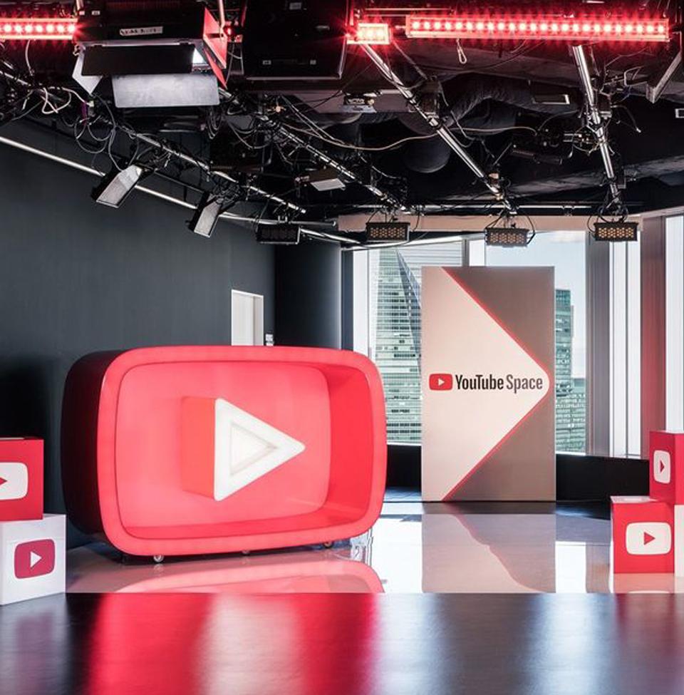 YouTube Spaceのような動画スタジオが流行る?